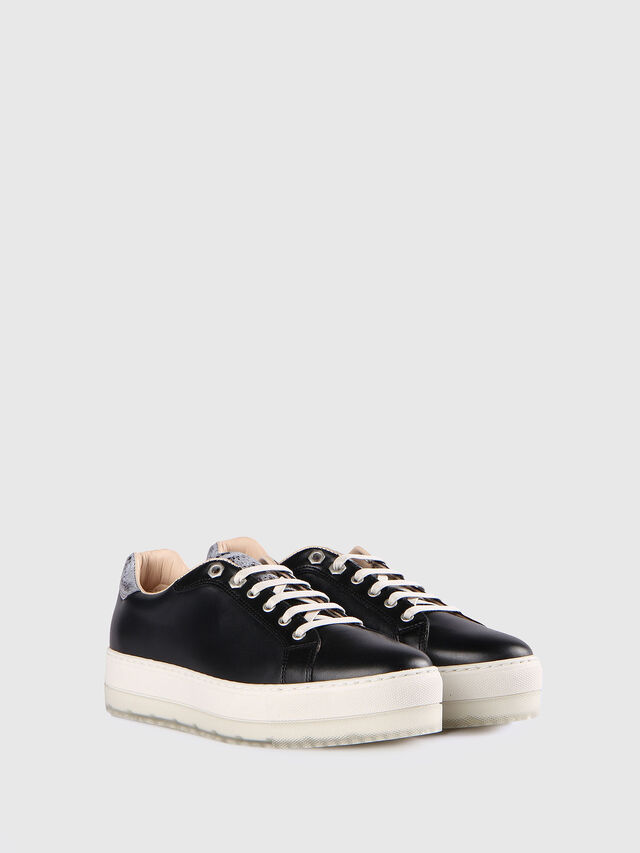 Diesel - S- ANDYES W, Nero/Argento - Sneakers - Image 2