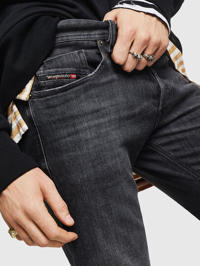 Diesel - Sleenker 084AT, Nero/Grigio scuro - Jeans - Image 3