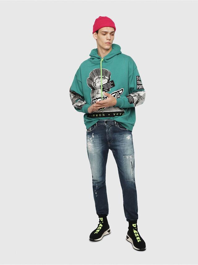 Diesel - Narrot JoggJeans 087AK, Blu Scuro - Jeans - Image 4