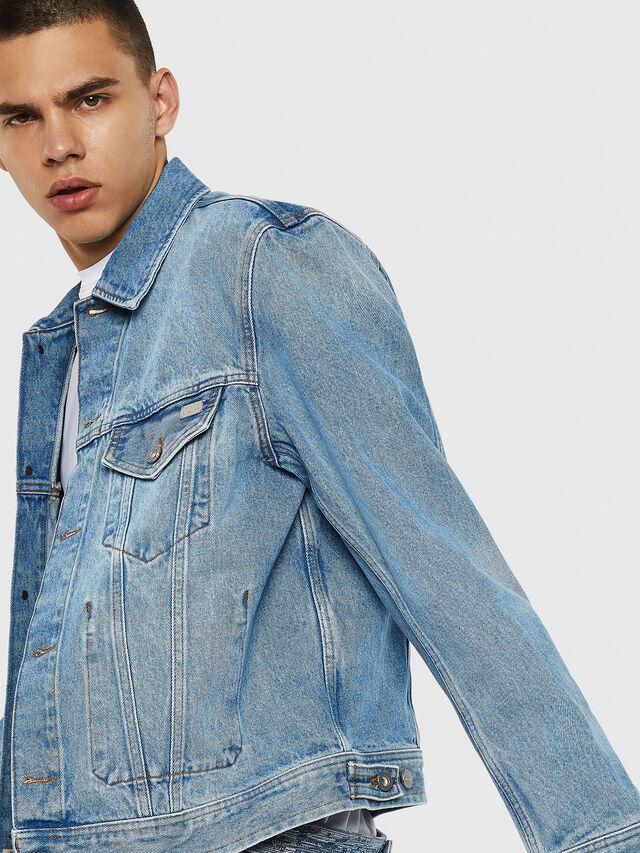Diesel - D-BRAY, Blu Jeans - Giacche in denim - Image 3