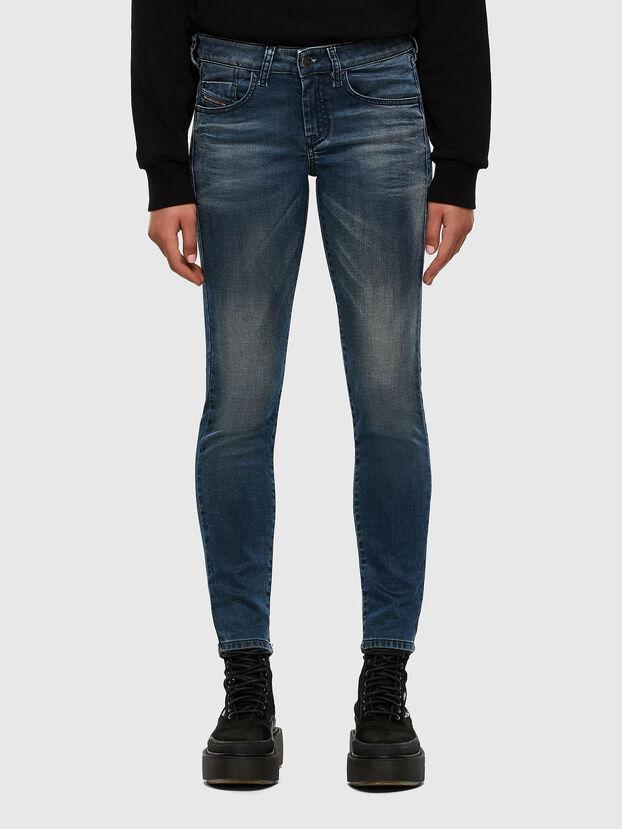 D-Ollies JoggJeans 069NM, Blu medio - Jeans
