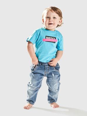 TJUSTDIXB, Azzurro - T-shirts e Tops