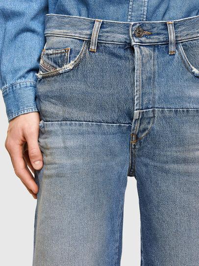 Diesel - D-MACS-SHORT-T-SP, Blu Chiaro - Shorts - Image 4