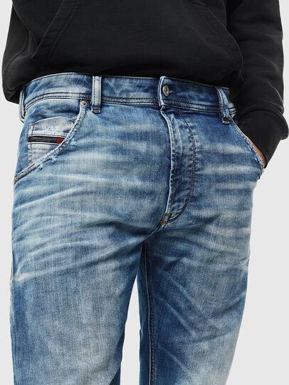 Diesel - Krooley JoggJeans 087AC, Blu medio - Jeans - Image 3
