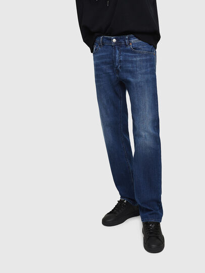 Diesel - Waykee 082AZ, Blu Scuro - Jeans - Image 1