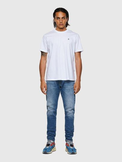 Diesel - T-JUST-ROMOHI, Bianco - T-Shirts - Image 4