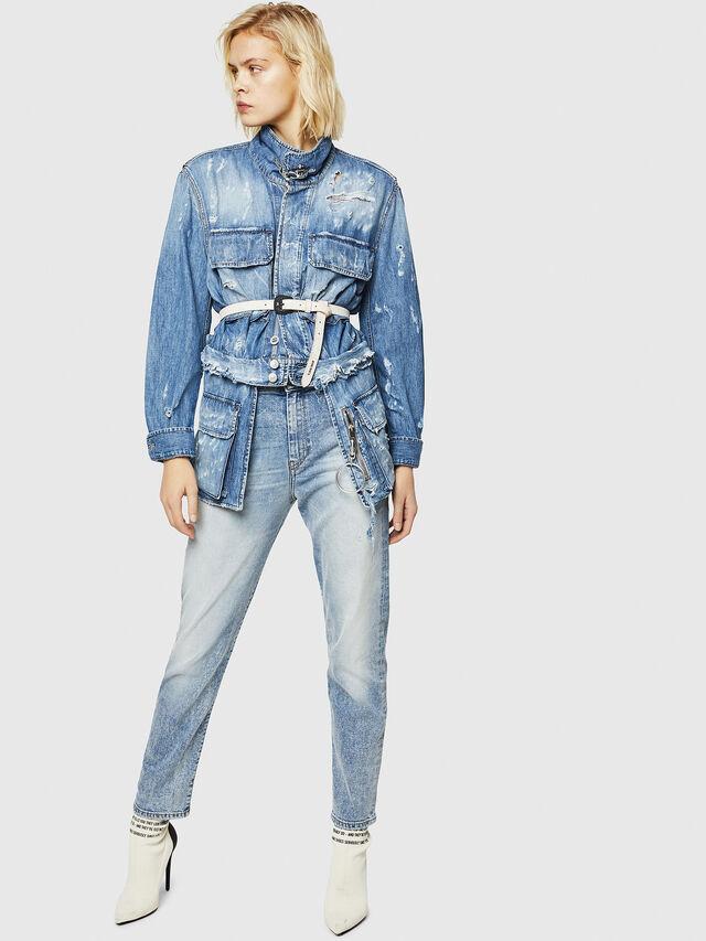 Diesel - D-Eiselle 084AA, Blu Chiaro - Jeans - Image 6