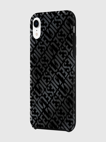 Diesel - DIESEL PRINTED CO-MOLD CASE FOR IPHONE XR, Nero - Cover - Image 5