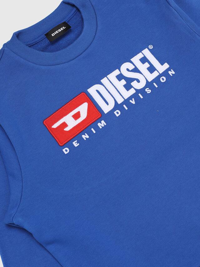 Diesel - SCREWDIVISION OVER, Blu Ceruleo - Felpe - Image 3