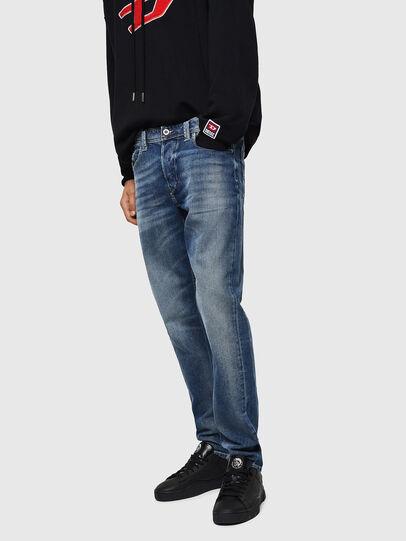 Diesel - Larkee-Beex 0853P, Blu medio - Jeans - Image 5