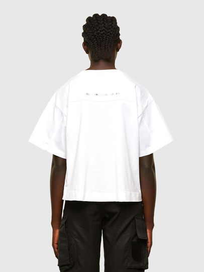 Diesel - T-BOWLESS, Bianco - T-Shirts - Image 2
