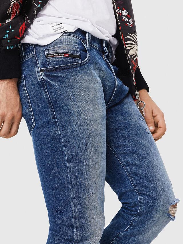 Diesel - D-Strukt 081AQ, Blu medio - Jeans - Image 3