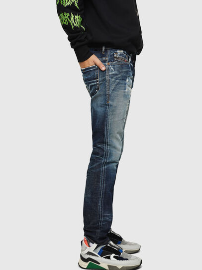 Diesel - Thommer 0092I, Blu Scuro - Jeans - Image 5