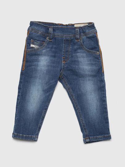 Diesel - KROOLEY-NE-B-N, Blu Chiaro - Jeans - Image 1
