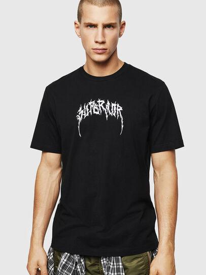 Diesel - T-JUST-BX7, Nero - T-Shirts - Image 1