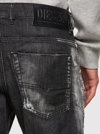 Diesel - Krooley JoggJeans® 09B53, Nero/Grigio scuro - Jeans - Image 3