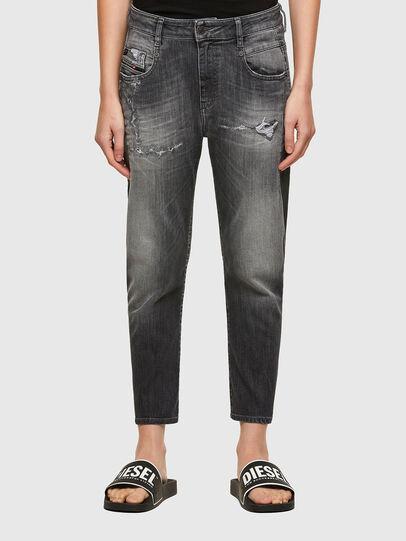 Diesel - Fayza JoggJeans® 009QT, Nero/Grigio scuro - Jeans - Image 1