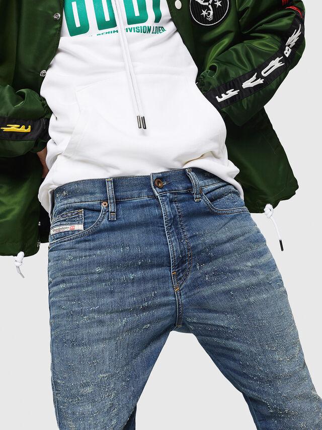Diesel - D-Reeft JoggJeans 069HG, Blu medio - Jeans - Image 5