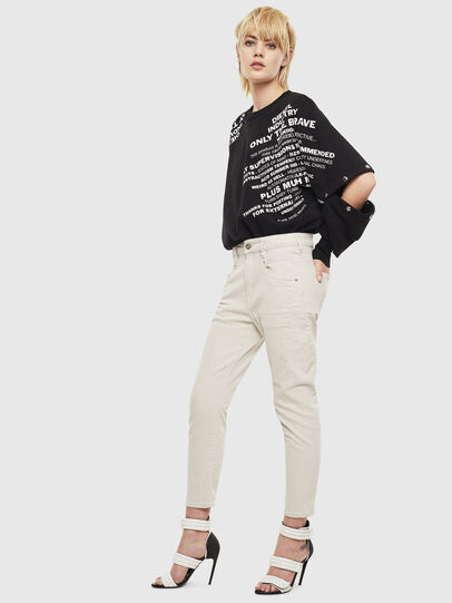 Diesel - Fayza 009BX, Bianco sporco - Jeans - Image 6