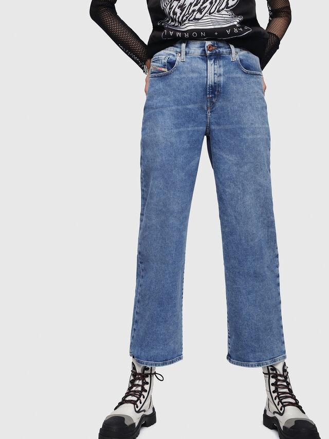 Diesel - Widee 087AR, Blu Chiaro - Jeans - Image 1