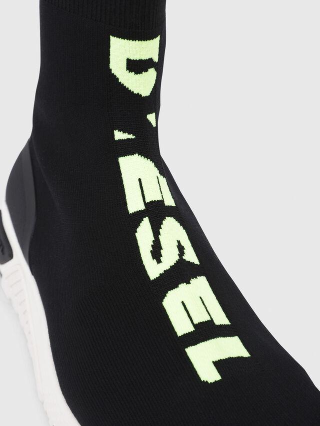 Diesel - S-KB MID ATHL SOCK, Nero - Sneakers - Image 4