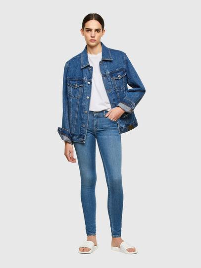 Diesel - Slandy 069RR, Blu Chiaro - Jeans - Image 4