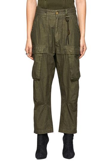 Pantaloni cargo in misto cotone