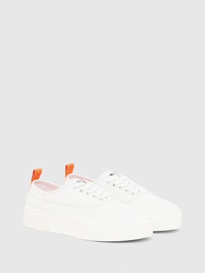 Diesel - S-VANEELA LOW, Bianco/Arancione - Sneakers - Image 2