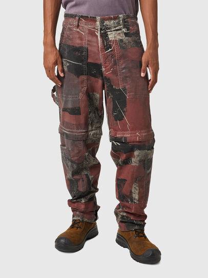 Diesel - D-Multy JoggJeans® 0CEAM, Rosa/Nero - Jeans - Image 1