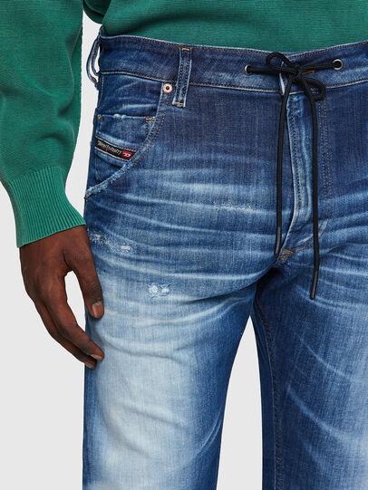 Diesel - Krooley JoggJeans® 09B52, Blu medio - Jeans - Image 4