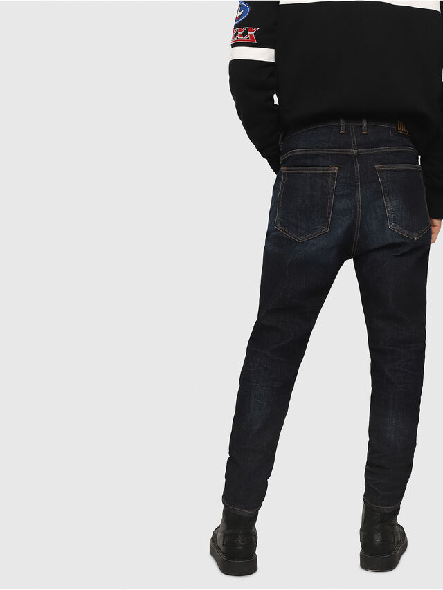 Diesel - D-Vider 081AT, Blu Scuro - Jeans - Image 2