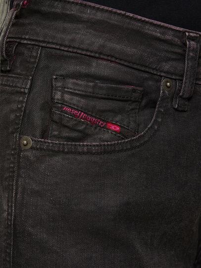 Diesel - D-Joy 009DU, Nero/Rosa - Jeans - Image 4