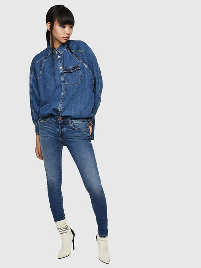 Diesel - Slandy Low 083AN, Blu medio - Jeans - Image 6