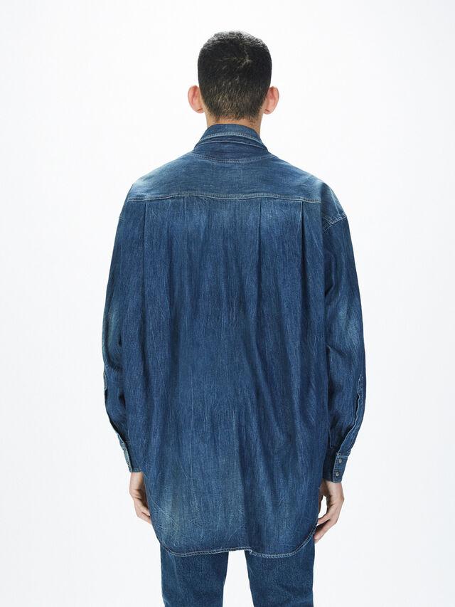 Diesel - SOTS01, Blu Jeans - Camicie - Image 5