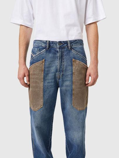 Diesel - D-Franky 0GCAY, Blu medio - Jeans - Image 4