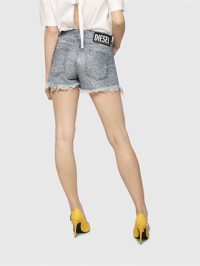 Diesel - DE-RIFTY-S, Blu Jeans - Shorts - Image 2
