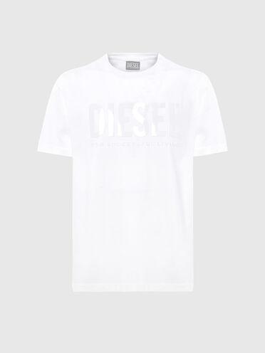 T-shirt Green Label con stampa tono su tono