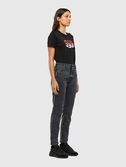 Diesel - KRAILEY JoggJeans® 069QB, Nero/Grigio scuro - Jeans - Image 6