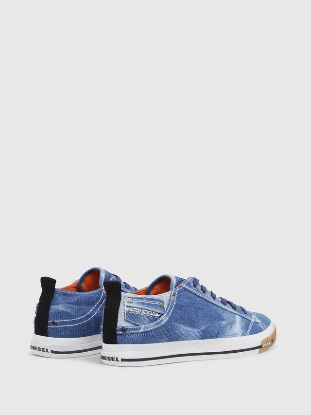 Diesel - EXPOSURE LOW I, Blu Jeans - Sneakers - Image 3