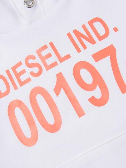 Diesel - SGIRKHOOD OVER, Bianco - Felpe - Image 3