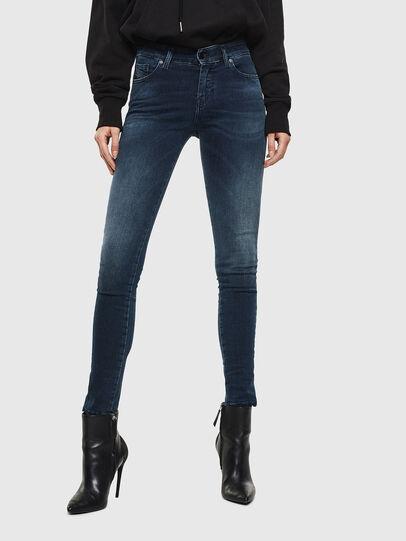 Diesel - Slandy 084UT, Blu Scuro - Jeans - Image 1