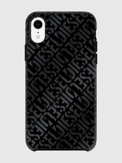 Diesel - DIESEL PRINTED CO-MOLD CASE FOR IPHONE XR, Nero - Cover - Image 2
