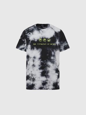 T-JUST-SLITS-X86, Nero/Bianco - T-Shirts