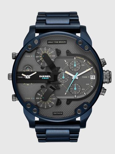 Mr. Daddy 2.0 cronografo in acciaio inossidabile blu