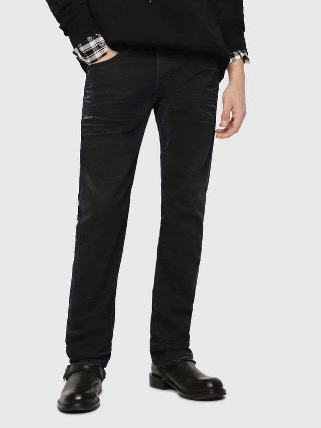 Diesel - Safado C87AU, Blu Scuro - Jeans - Image 1