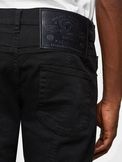 Diesel - D-Strukt 069TH, Nero/Grigio scuro - Jeans - Image 4