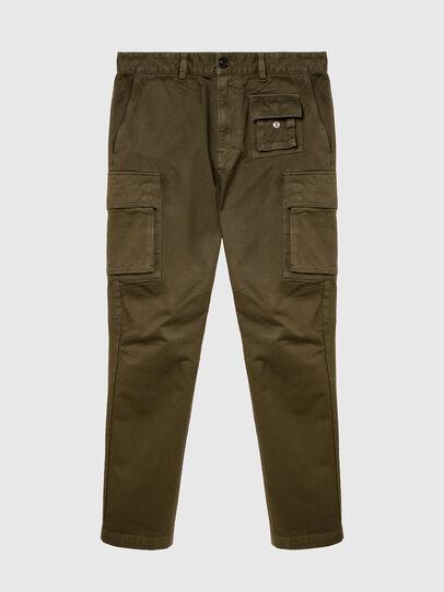 Diesel - P-COR, Verde Militare - Pantaloni - Image 4