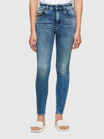 Diesel - Slandy High 009PT, Blu Chiaro - Jeans - Image 1