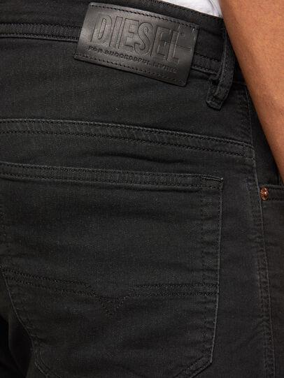 Diesel - Thommer JoggJeans 009IC, Nero/Grigio scuro - Jeans - Image 4