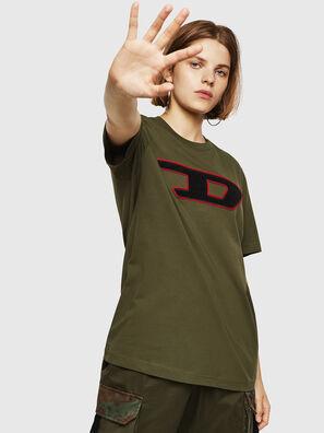 T-JUST-DIVISION-D-FL, Verde Militare - T-Shirts